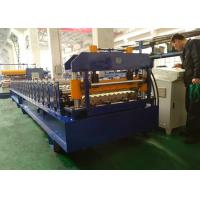 Quality Corrugated Metal Roof Roll Forming Machine For 914mm 1000mm Width Material wholesale