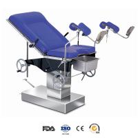 Cheap Stainless Steel Hydraulic Operating Room Table , Hydraulic Patient Examination for sale