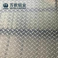 Quality Pre Coating Aluminium Diamond Plate 1050 1060 With Excellent Corrosion Resistance wholesale