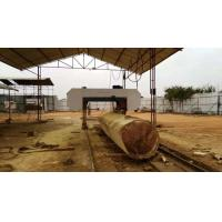 Buy cheap MJ2500 Large Horizontal Automatic Wood CNC Band Saw Machine For Sale from wholesalers