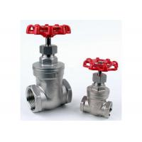 """Quality 1/4"""" to 4"""" Stainless Steel Gate Valve CF8M NPT Thread PN16 ASTM Standard wholesale"""