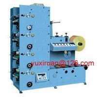 Cheap Cutting Slitting Five Colour Flexographic Printing Machine For Adhesive Paper Labels for sale