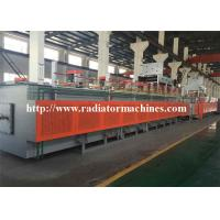 China Electric Chain Conveyor Mesh Belt  Furnace Tempering for Auto Springs 8 kg on sale