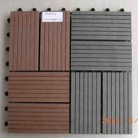 Cheap DIY WPC decking tiles for sale