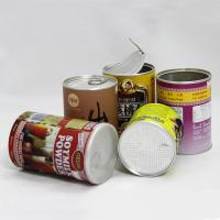 Buy cheap Biodegradable Cardboard Cups With Lids , Recycled Paper Gift Tube Packaging product