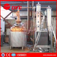 Quality White Spirit Distillation And Alcohol Distillers Electric Hearting Or Steam Hearting wholesale