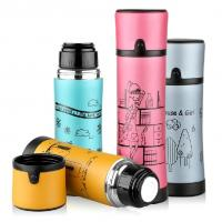 Quality Office Bike Bicycle Stainless Steel Water Bottle Vacuum Thermos Flask 350/500m wholesale