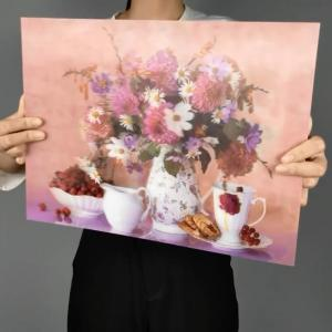 China PP 40X30cm 3D Lenticular Printing Wallpaper For Home Decoration on sale