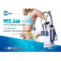 Quality 2 Handles Cryotherapy Fat Freezing Device For Weight Loss MED-340 Rapidly Slimming Machine wholesale