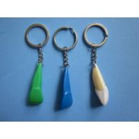 Quality Dental Keychain For Dentist Gift Plastic Front Tooth White or Blue Green wholesale