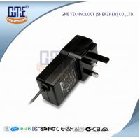 Quality UL AC DC Switching Power Supply with UK Style Plug , Wall Mounted Mobile Power Supply wholesale