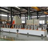 Quality High Frequency MS Iron Metal Steel Square Pipe Making Machine Galvanized GI Pipe Making Machine wholesale