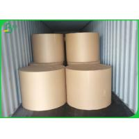 Quality 50 * 70cm 350G 400G Brown Kraft Paper Sheets 100% Virgin Wood Pulp Material wholesale