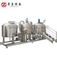 China 1000 Liter Brewery Fresh Beer Brewing Equipment For Microbrewery Hotel Bar on sale