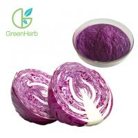 Quality Fine Vegetable Extract Powder Purple Cabbage Extract Powder Anthocyanins 10%-35% wholesale
