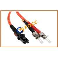 Buy cheap ST To MTRJ Duplex Fiber Optic Patch Cables 2.0mm, 62.5/125μm OM1 With PVC Jacket product