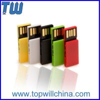 Buy cheap Colorful Paper Clip Plastic Usb 3.0 Flash Drive with Company Logo Printing product