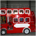 Quality electrical kids double deck bus tourist bus for sale for london bus wholesale