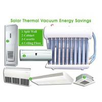 China hybrid solar air conditioner Solar Energy System 12000BTU on sale