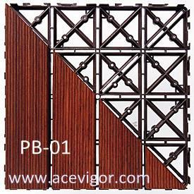 Quality PB-01 PP plastic interlock floor mats wholesale