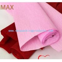 Quality Flower Crepe Paper,Crepe Wrapping Paper in Different Colors From China wholesale