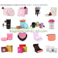 Quality Chocolate Food Gift Box Packaging Wedding Invitation Paper Box Foldable wholesale