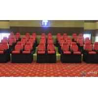 Quality Professional Scene 5D Movie Theater For Indoor Mini Cabin Cinema Red / Black Color wholesale