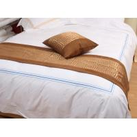 Quality 3 star hotel Bed runner bed throw bed linen wholesale