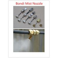 China Wholesale 304ss/Copper Anti-drip Water Fine Misting System Nozzle ,fog machine nozzle_cooling jet nozzles on sale