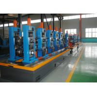 Quality High Precision Carbon Steel ERW Tube Mill Line With Worm Adjustment wholesale