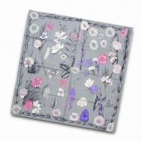 Quality 100% Silk Scarf, Measures 90 x 90cm, OEM and ODM Orders are Welcome wholesale