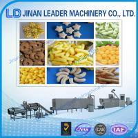 Quality Puffed snack food processing machine extrusion Rice Puffing corn puffs machine wholesale
