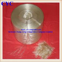 China Alkali Resistant Fiberglass Chopped Strand With Low Tex Strand on sale