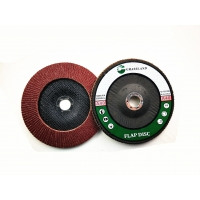 Quality Aluminium Oxide Fibre Backed P40 180x22mm Conical Flap Disc wholesale