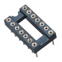 Quality 2.54mm IC Socket DIP  Round Pin Header H=3.0,L=7.43 Row of Pitch 7.62 wholesale