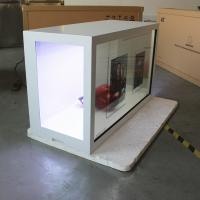 China Rich Color Transparent Digital Screen / Shopping Mall Transparent LCD Display on sale