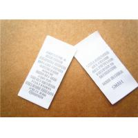 Quality Heat cut Clothing Label Tags woven for back neck label with customized logo wholesale