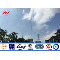Quality High Voltage Outdoor Electric Steel Power Pole for Distribution Line wholesale