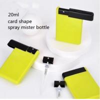 China 20ml portable slide card spray bottle on sale