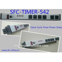 Quality Value Cycle Timer Electrical Outlet , Metal Power Strip With Timer / On Off Switch wholesale