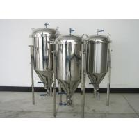 Quality 100L Top Manhole Home Conical Beer Fermenter With Full Fittings wholesale