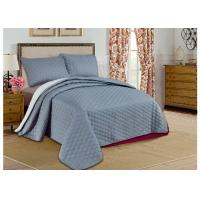Quality Custom Grey Printed Bed Spread Sets , Home Adult Luxury Bedspreads wholesale