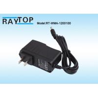 Quality China Factory US Plug 12V 1A Wallmount Switching AC/DC Power Adapter Tip 5.5x2.5mm wholesale