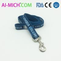 Quality Sublimation/heat transfer Wholesale Polyester Adjustable Custom Dog Leash wholesale