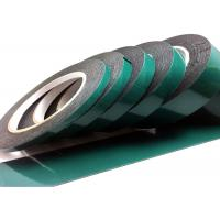 Quality Green Urethane Double Sided Foam Tape 3 Mil For Binding / Protection wholesale