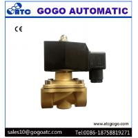 Quality Brass Solenoid Valves , AC220V 12V DC Normally Close 2 Way Solenoid Valves wholesale