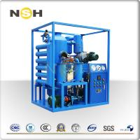 China High Vacuum Insulation Oil Filtration Machine Portable System Heavy Duty on sale