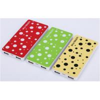 Cheap 8000 mAh Power Bank Chargers , Li - on Battery High Capacity Power Bank for sale