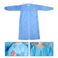 Quality Breathable Waterproof Isolation Gown Single Use Hospital Use Light Weight wholesale