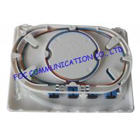 Buy cheap 4 Port Fiber Optic Termination Box With SC Connector And Pigtails Wall Mounted from wholesalers